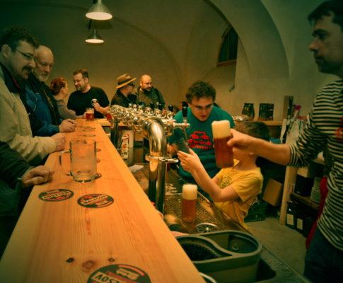 Otevření Malešovského pivovaru – pro investory