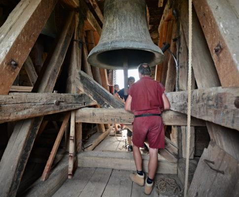 Zvonění sv. Vavřinec – Kaňk