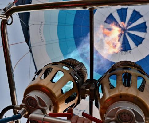 Přelet balónem nad Kutnou Horou